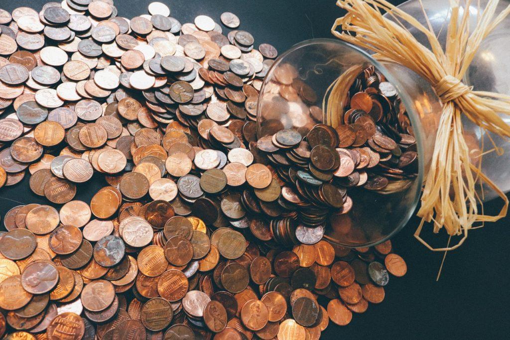 お金の小銭