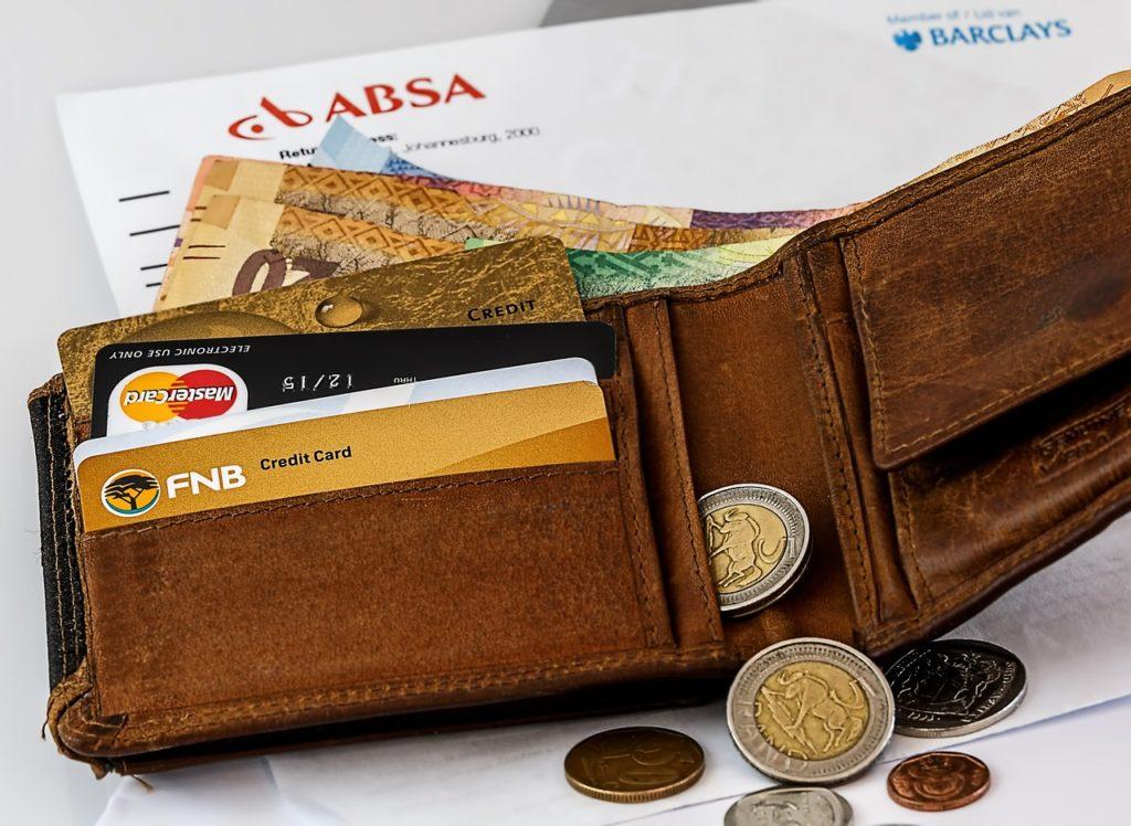 お金が入っている財布