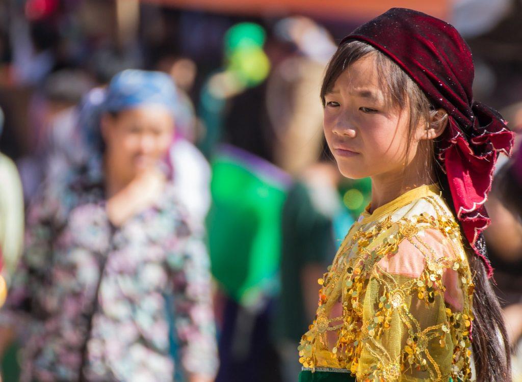 ベトナムの女の子