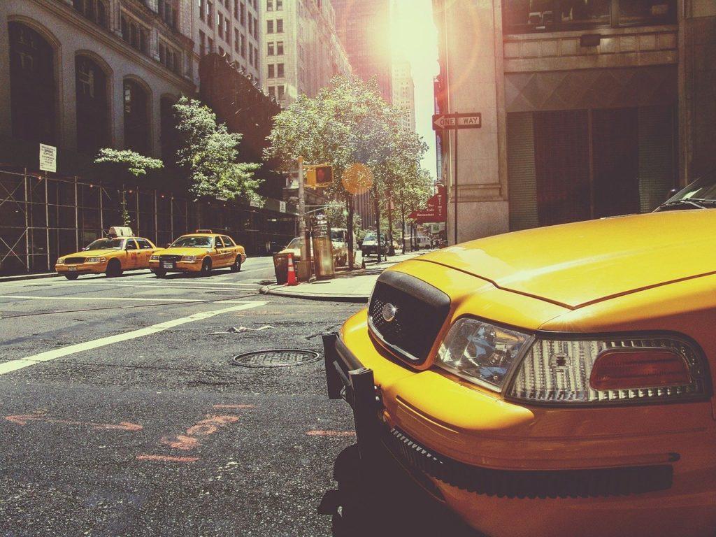 アメリカのタクシー