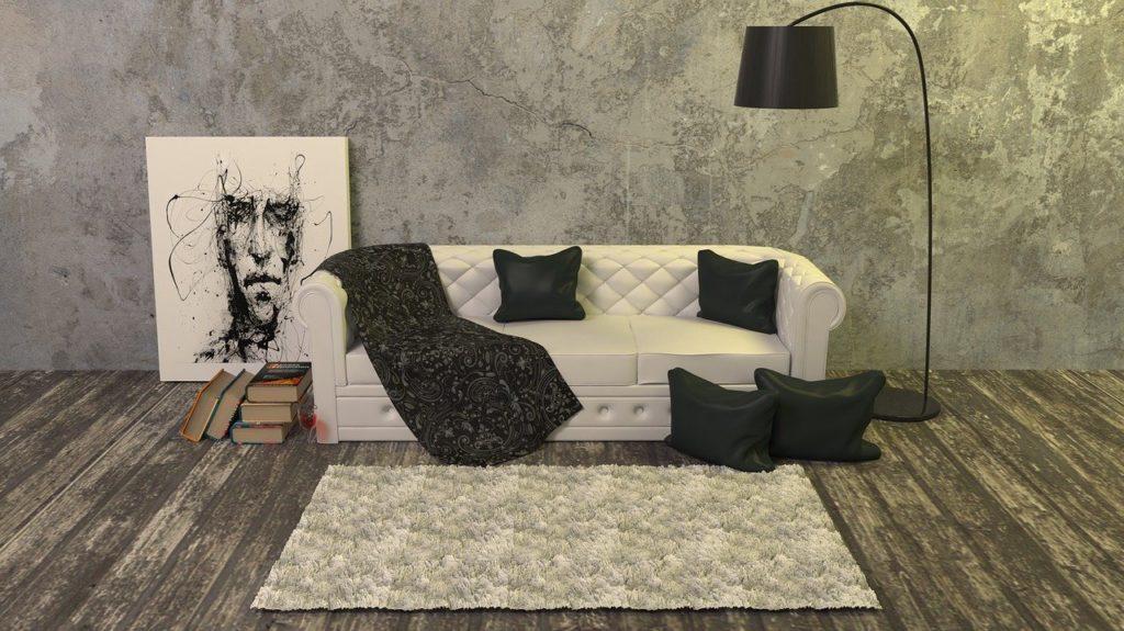部屋とソファー