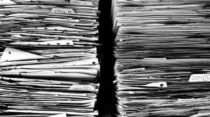 給与明細は捨てない方がいい。不要な書類はシュレッダー&必要なものは整理整頓