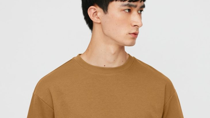 ユニクロUのエアリズムコットンオーバーサイズTシャツが名品すぎた