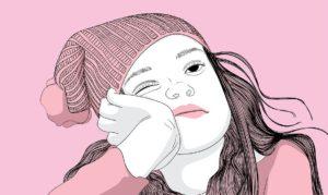 ピンクの女の子